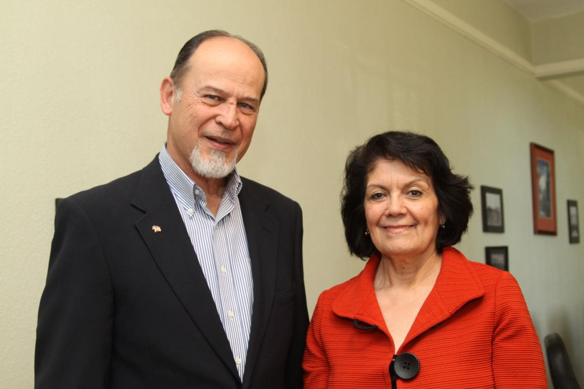 Adolfo Telles and Guadalupe Canales