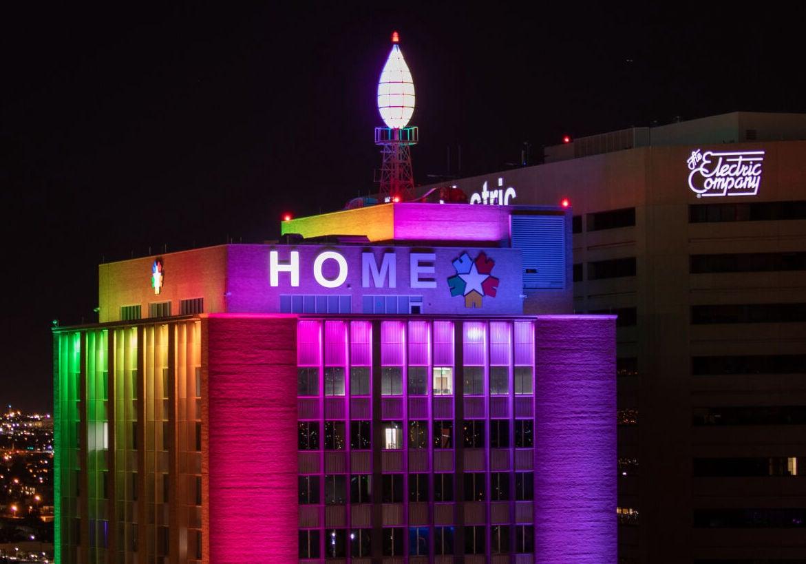Blue Flame building HOME lighting ceremony