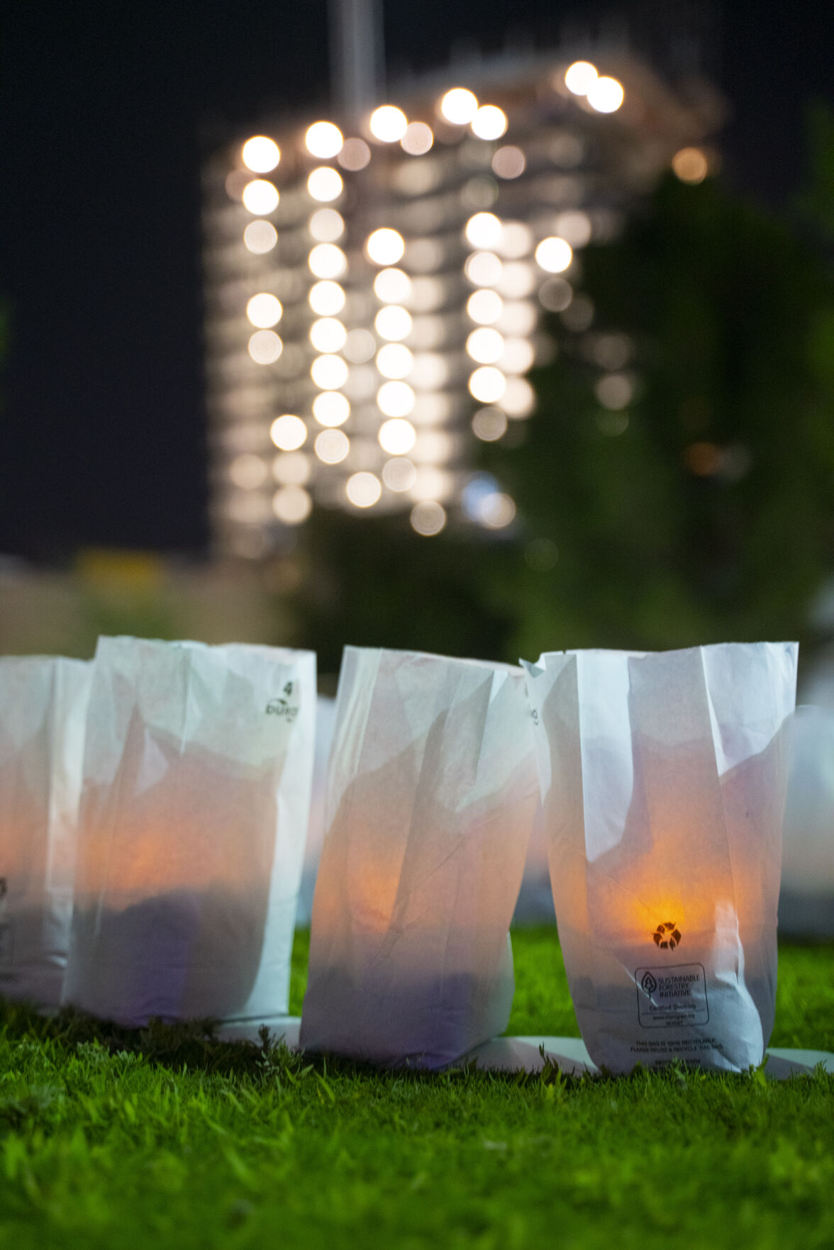 23 Luminarias Lit for Victims of August 3 Shooting