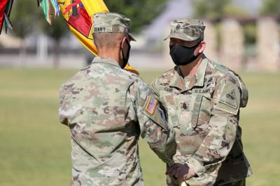 Fort Bliss Change of Command
