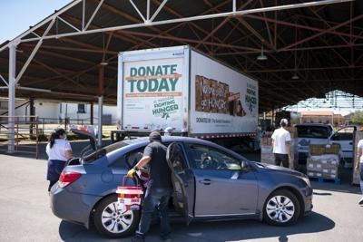 Food Banks Deliver Food Boxes