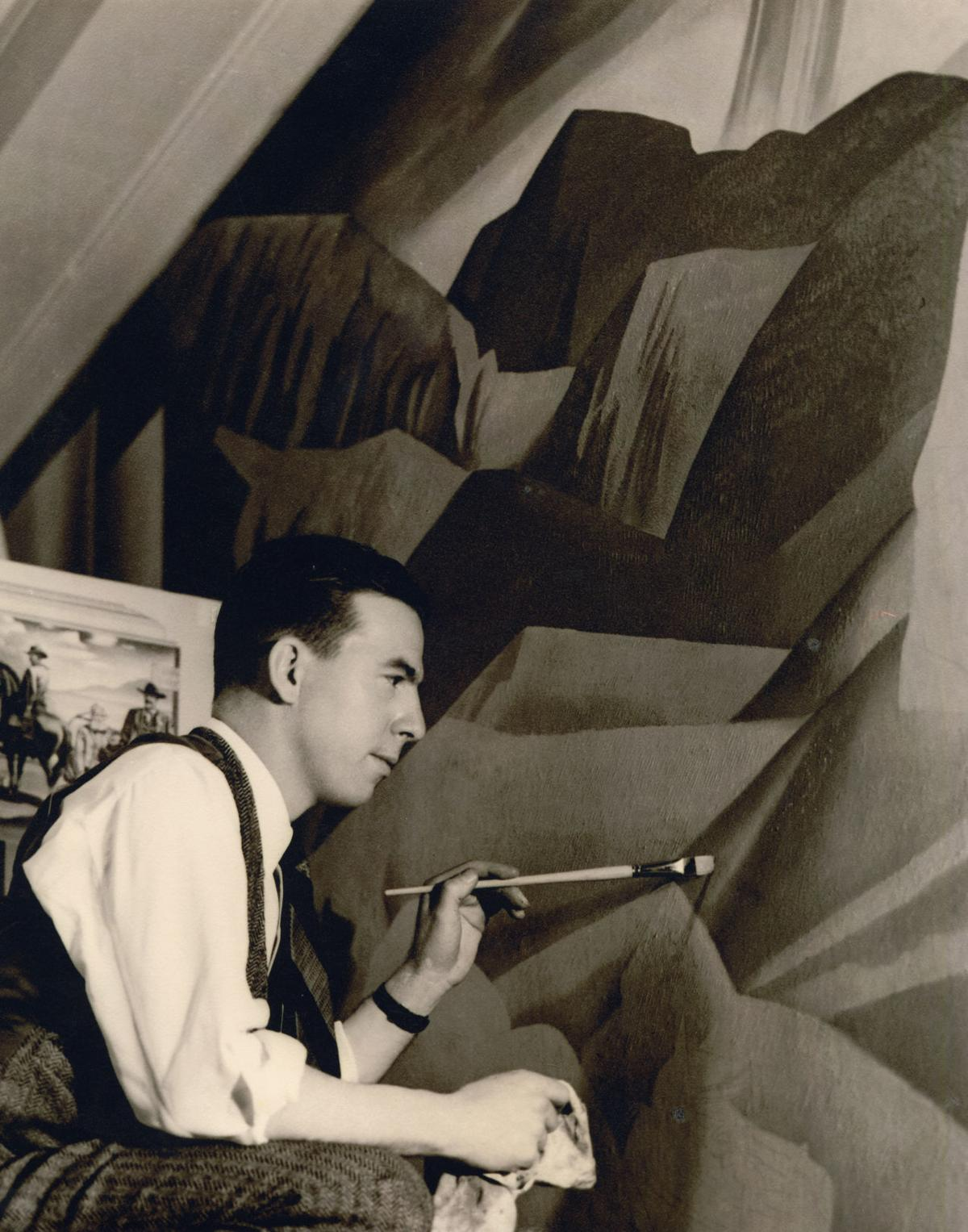 Copy of Tom Lea painting the Pass of the North Mural.jpg