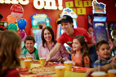 Best Kids Birthday Spot - Peter Piper Pizza