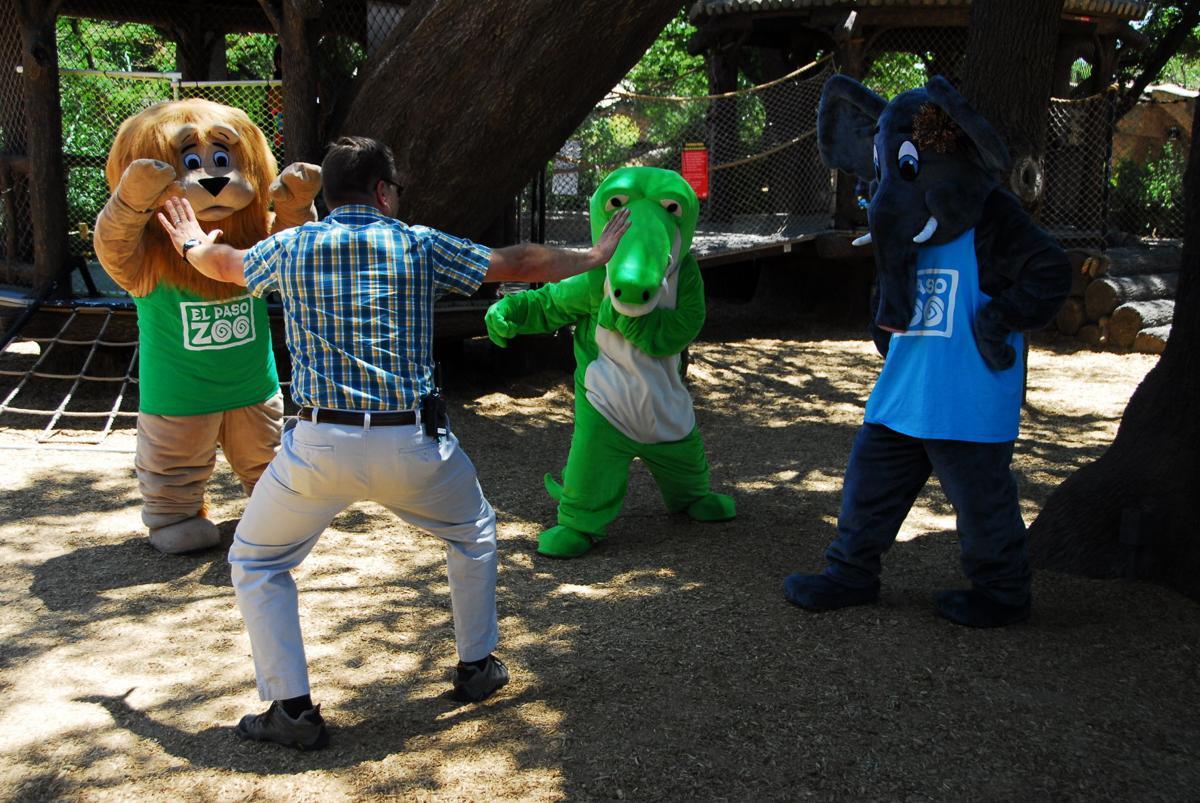 Marshall recreates Chris Pratt's raptor training