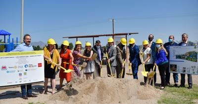Ascarate All-abilities park groundbreaking