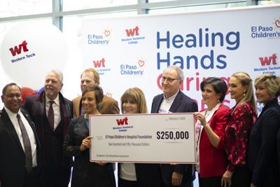 Western Tech Donates $250,000 to Name El Paso Children's Hospital's Rehab Gym