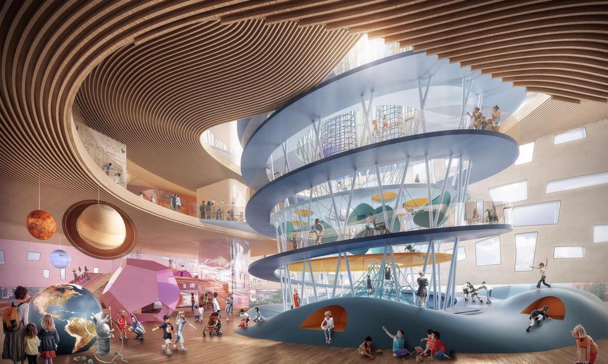 Firms unveil designs for children's museum   Local News   elpasoinc com