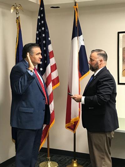 Acosta is sworn in as director of the SBA El Paso District Office