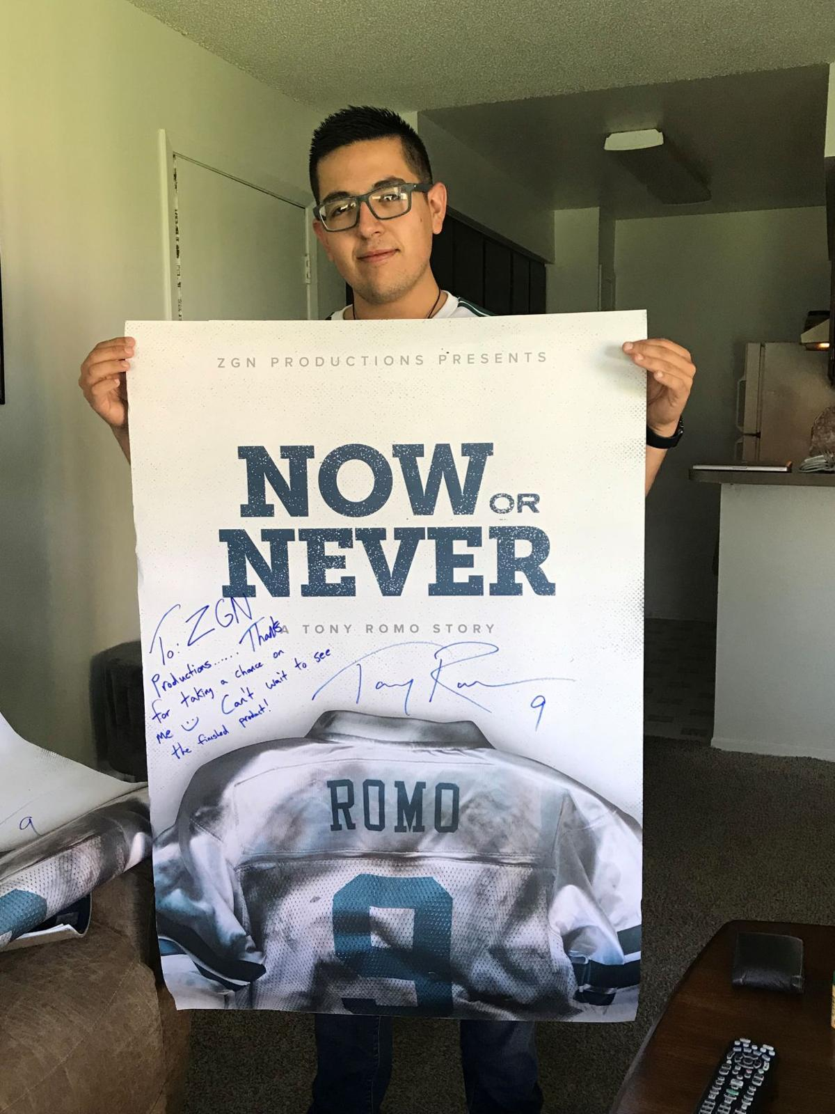 El Paso filmmaker tackles Tony Romo documentary