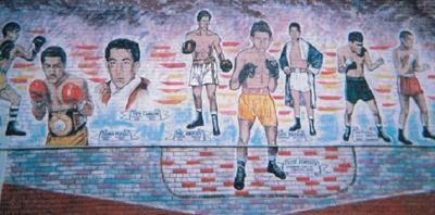 Future uncertain for mural of El Paso boxers