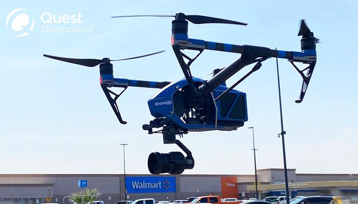 Walmart delivery drone COVID-19 1