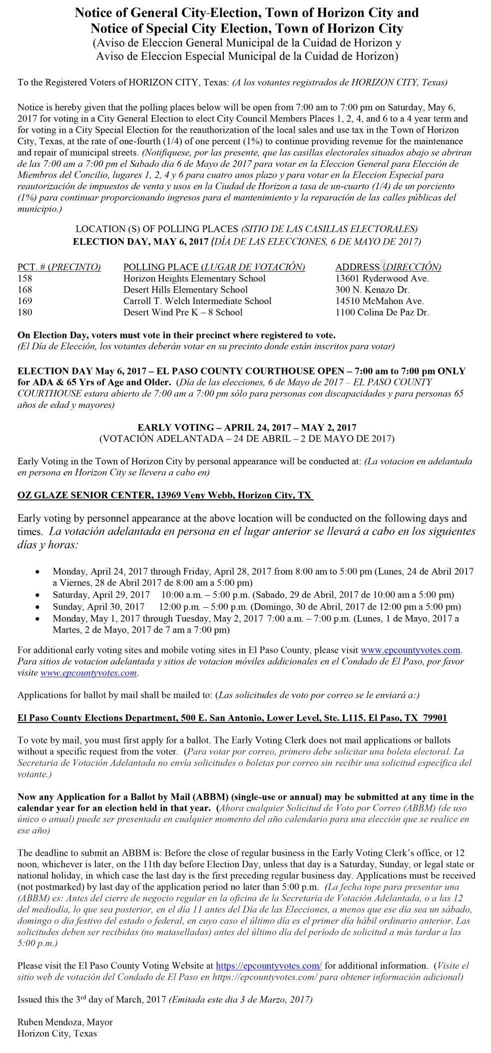 Legal notices for april 23 29 legals elpasoinc legal notices for april 23 29 aiddatafo Images