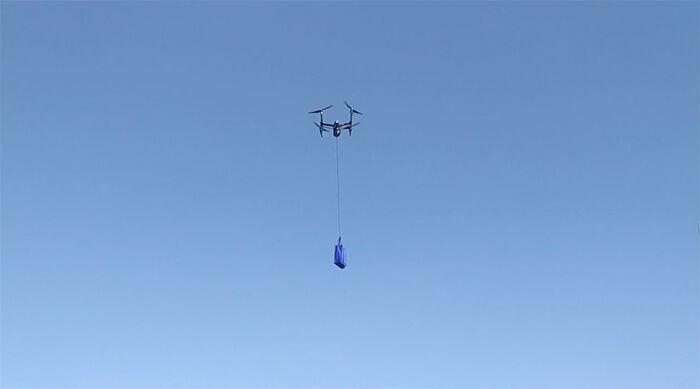 Walmart delivery drone COVID-19 2