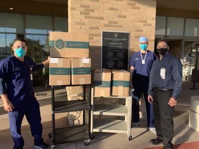Vista Surgery Center and University Medical Center, deliver meals