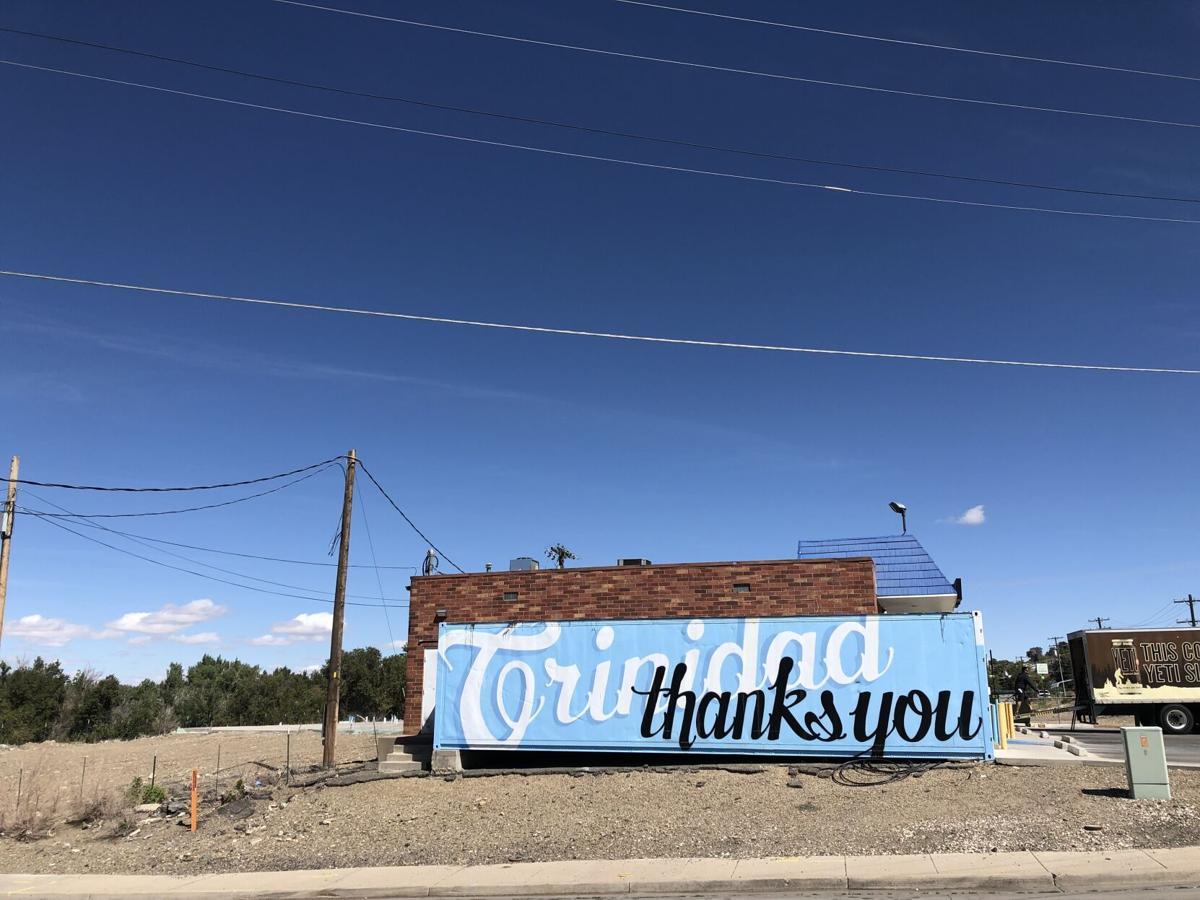 Liquor store mural in Trinidad, Colorado