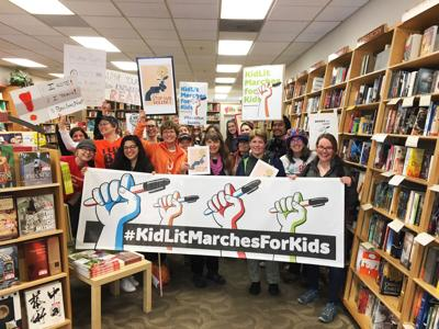 Children's books authors taking stand in stories
