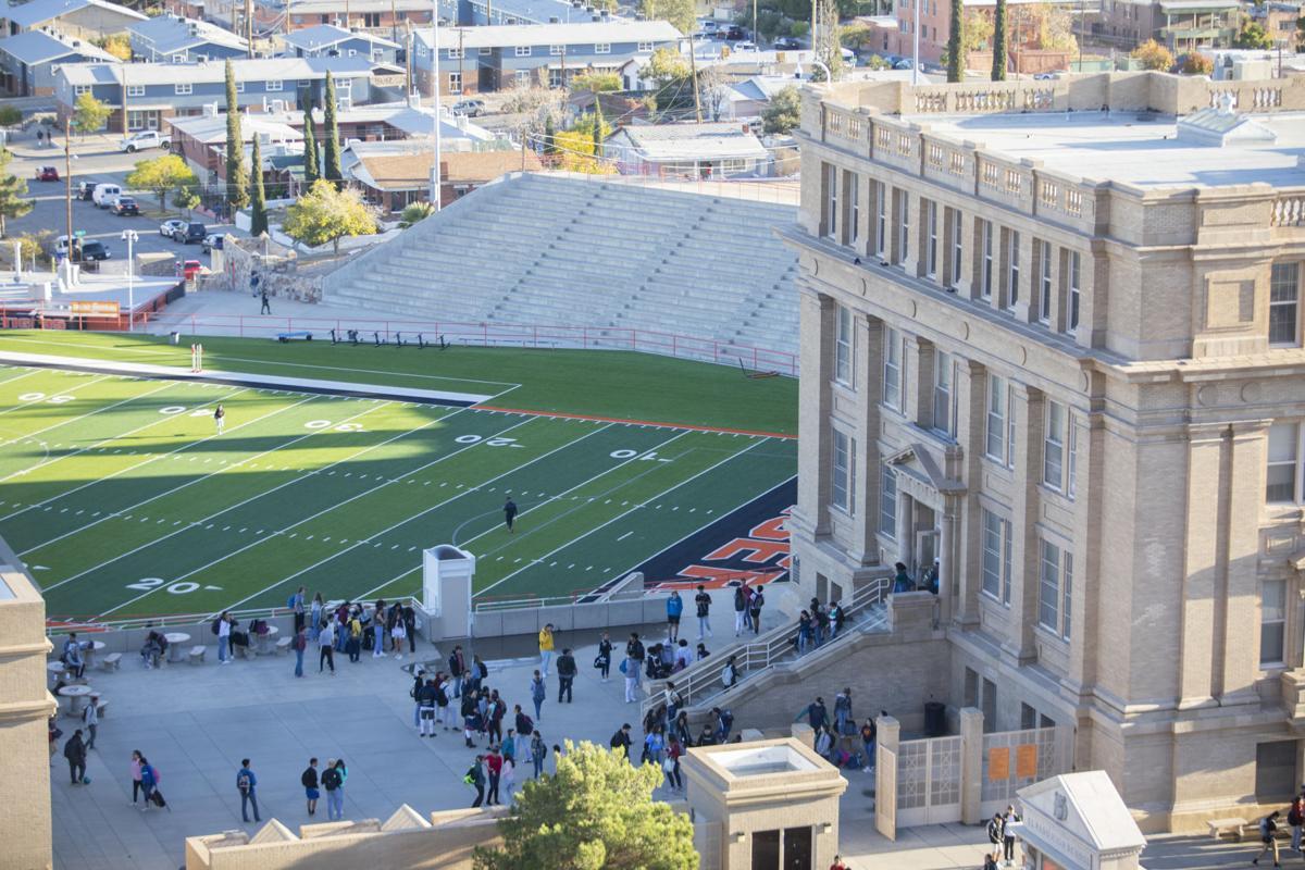 Students leave El Paso High School