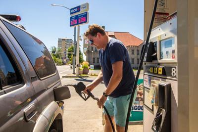 Bomba de gasolina en Yakima