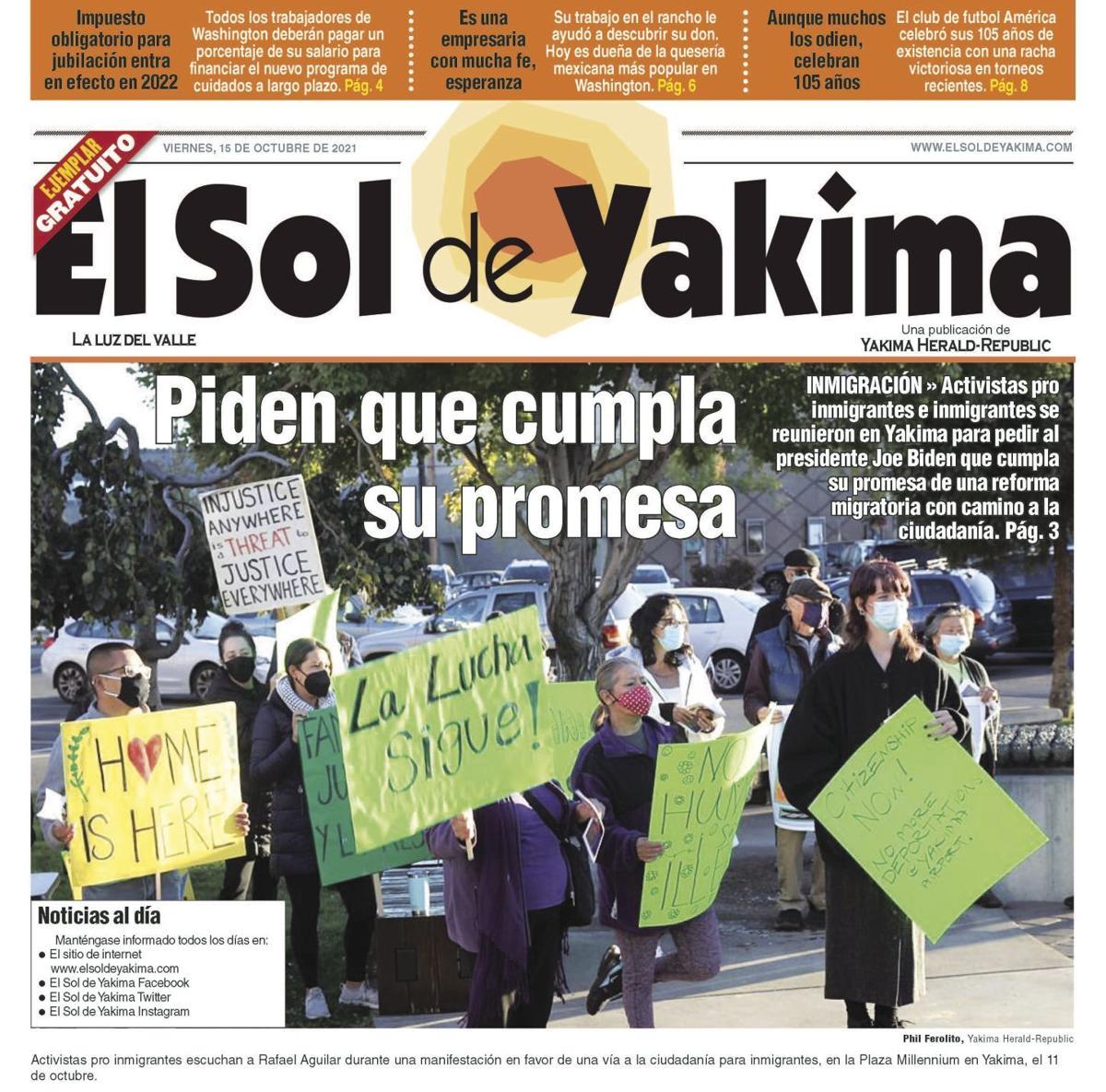 LÍDER EN NOTICIAS EN EL VALLE DE YAKIMA
