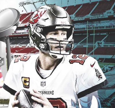 Tom Brady y su equipo ganan el Super Bowl