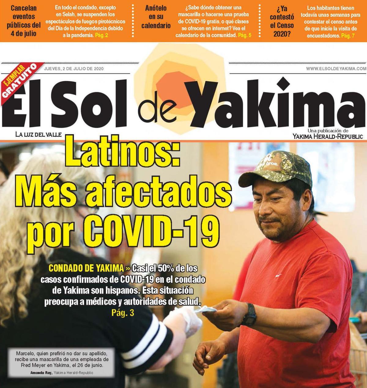 LÍDER EN NOTICIAS EN EL CONDADO DE YAKIMA
