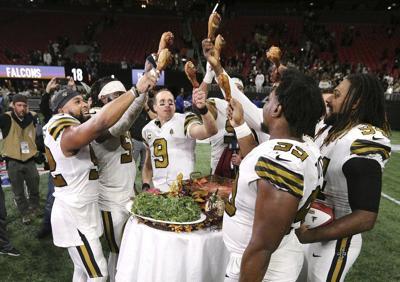 Saints vencen a Falcons y se coronan en su división
