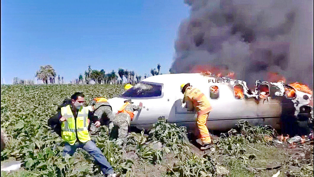 Accidente aéreo de Sedena