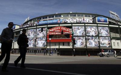 Wrigley Field de Chicago.