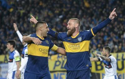 Daniele De Rossi del Boca Juniors