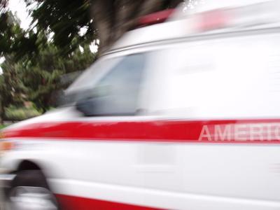 Ambulancia en acción