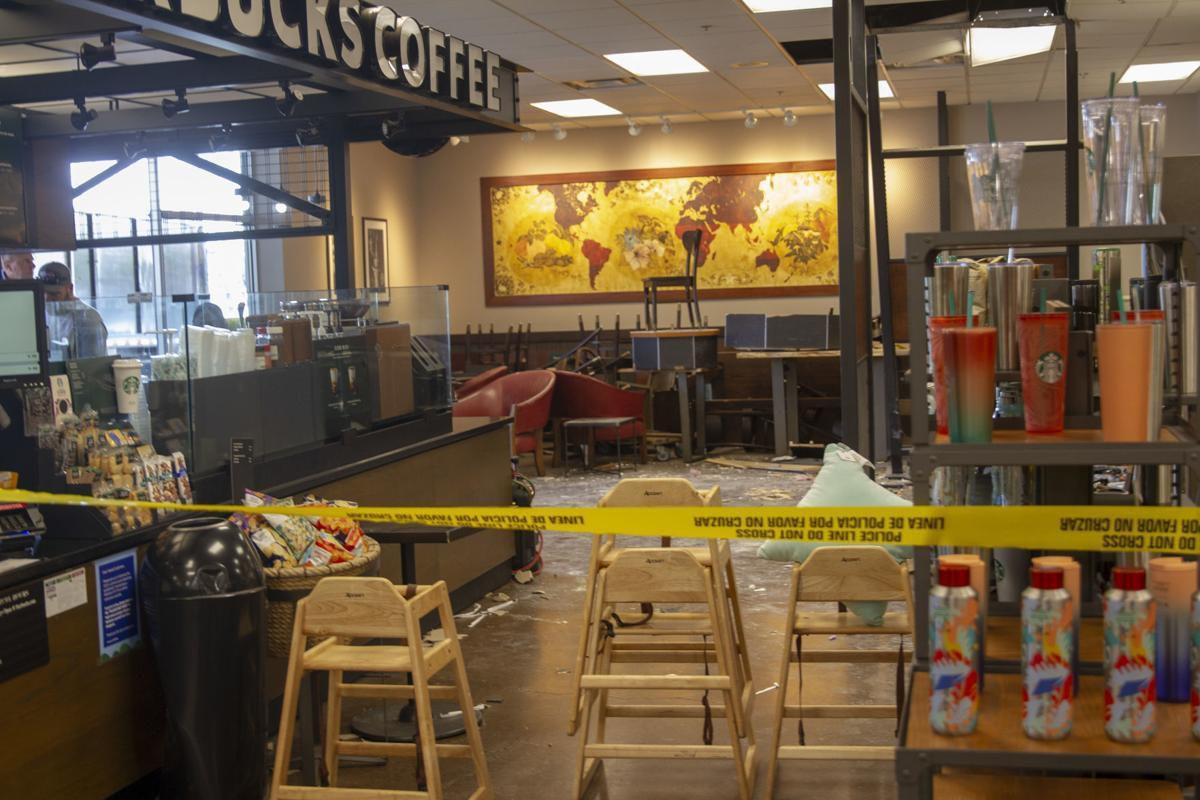 Choque en Fred Meyer Starbucks (foto)