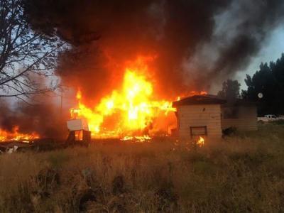 Familia sin hogar por incendio