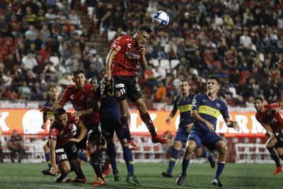Ecuatoriano Bolaños da triunfo a Tijuana sobre Boca Juniors
