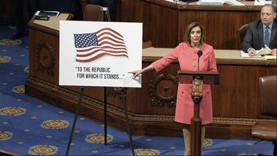 Cámara baja remite al Senado los cargos contra Trump