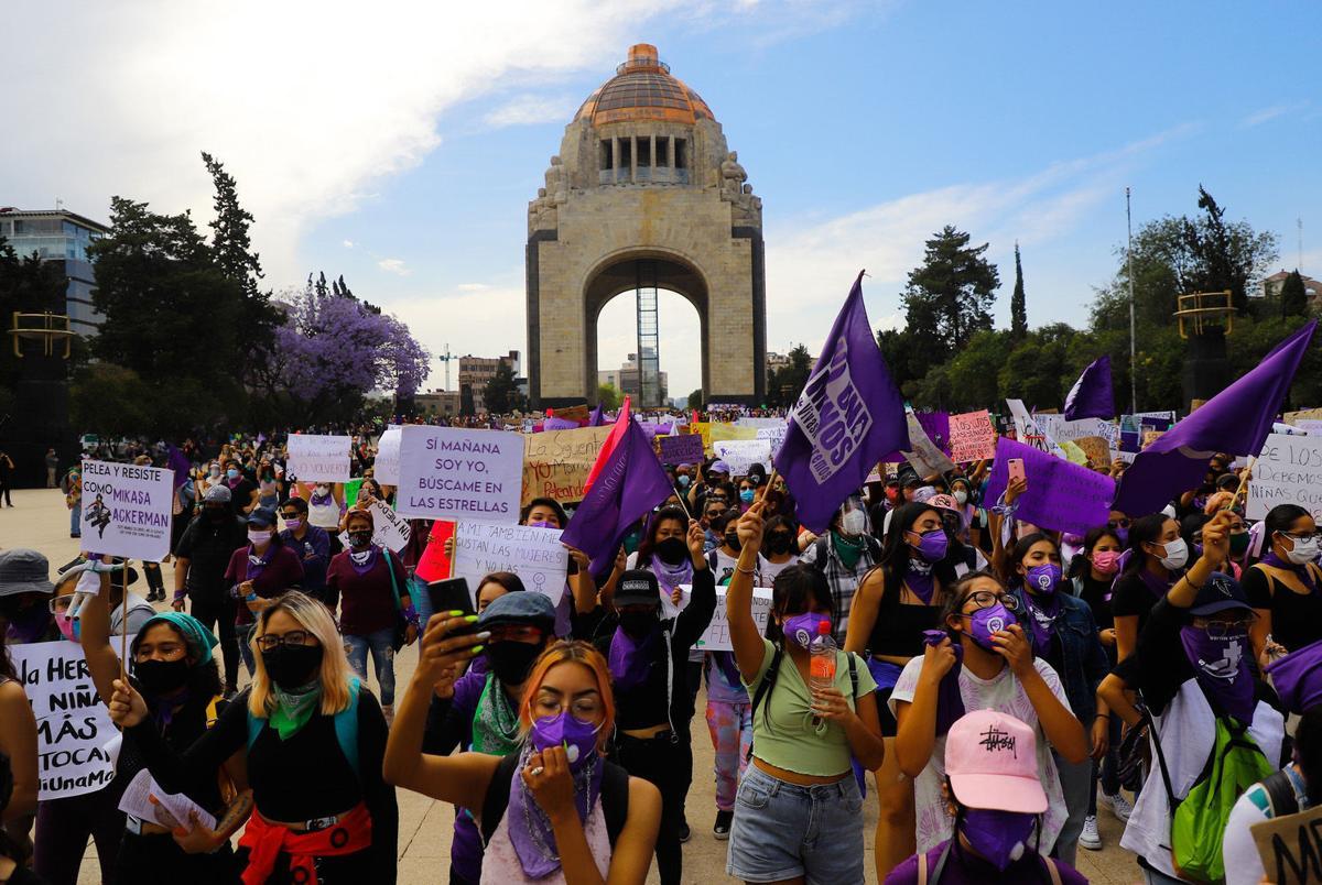 Marcha 8M en México