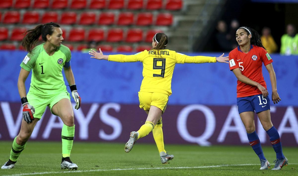 Suecia vs Chile