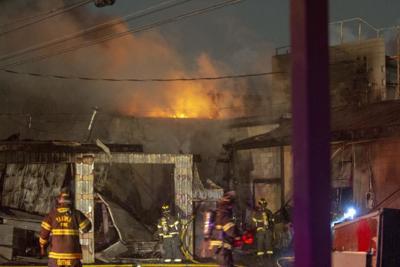 Incendio en Picatti Brothers