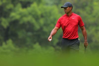El golfista Tiger Woods