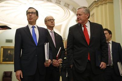 Trump y Congreso acuerdan rescate de 2 billones de dólares