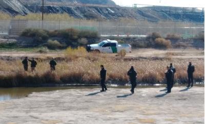 Muro fronterizo El Paso