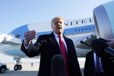 Trump no acepta responsabilidad por asalto al Capitolio