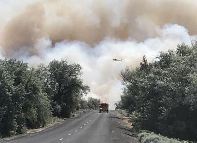 Gran County fire