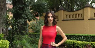 Cantante Sandra Echeverría