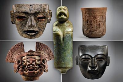 Piezas prehispánicas