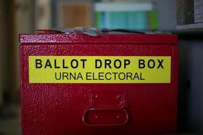 Urna electotoral en condado de Yakima