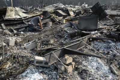 Incendios en Oregon