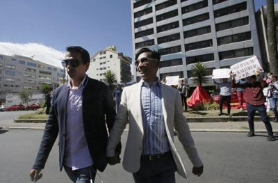 Ecuador, matrimonio entre personas del mismo sexo