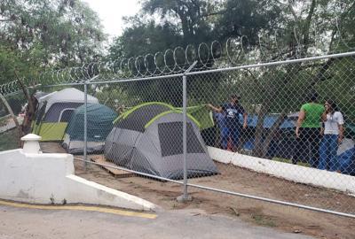 Migrantes en Tamaulipas