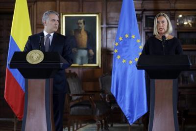 La UE promete ayudar a Colombia ante crisis de refugiados