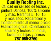 QUALITY ROOFING INC.